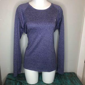 Size XXL Purple Champion Long Sleeve shirt